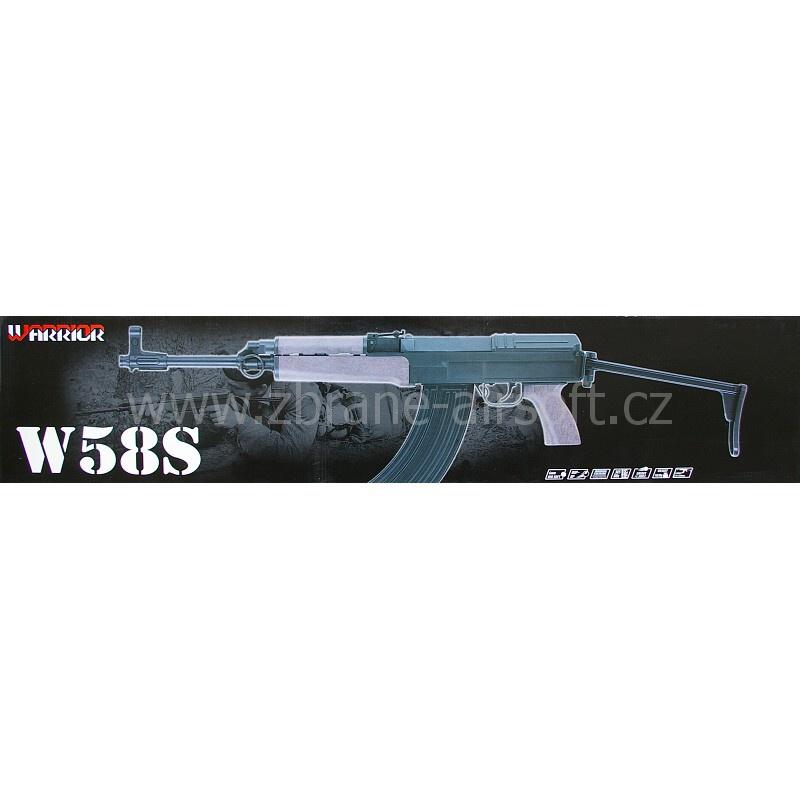 manuální Warrior - Warrior W58S